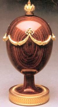 Swag Egg By Theo Faberge